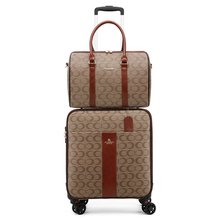 Luggage-Sets Rolling-Suitcase Travel-Bag Carry-Ons Luxury Trolley Fashion Handbag New