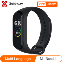 Oryginalna bransoletka do Xiaomi Mi Band 4, opaska, sportowa, fitness, Bluetooth, kolorowy, wyświetlacz AMOLED, ekran, zegarek
