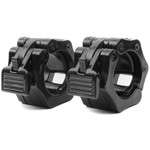 Olympic Size Barbell Collar Locks 50mm Bar Clamp Weightlifting Quick Release Lock Jaw, 1 Pair