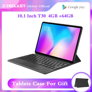 Teclast M30 10.1inch Deca Core Dual 4G Phone Tablets 2560 x 1600 2.5k 4GB RAM 128GB ROM MT6797 X27 GPS Android 8.0 Tablet PC(China)