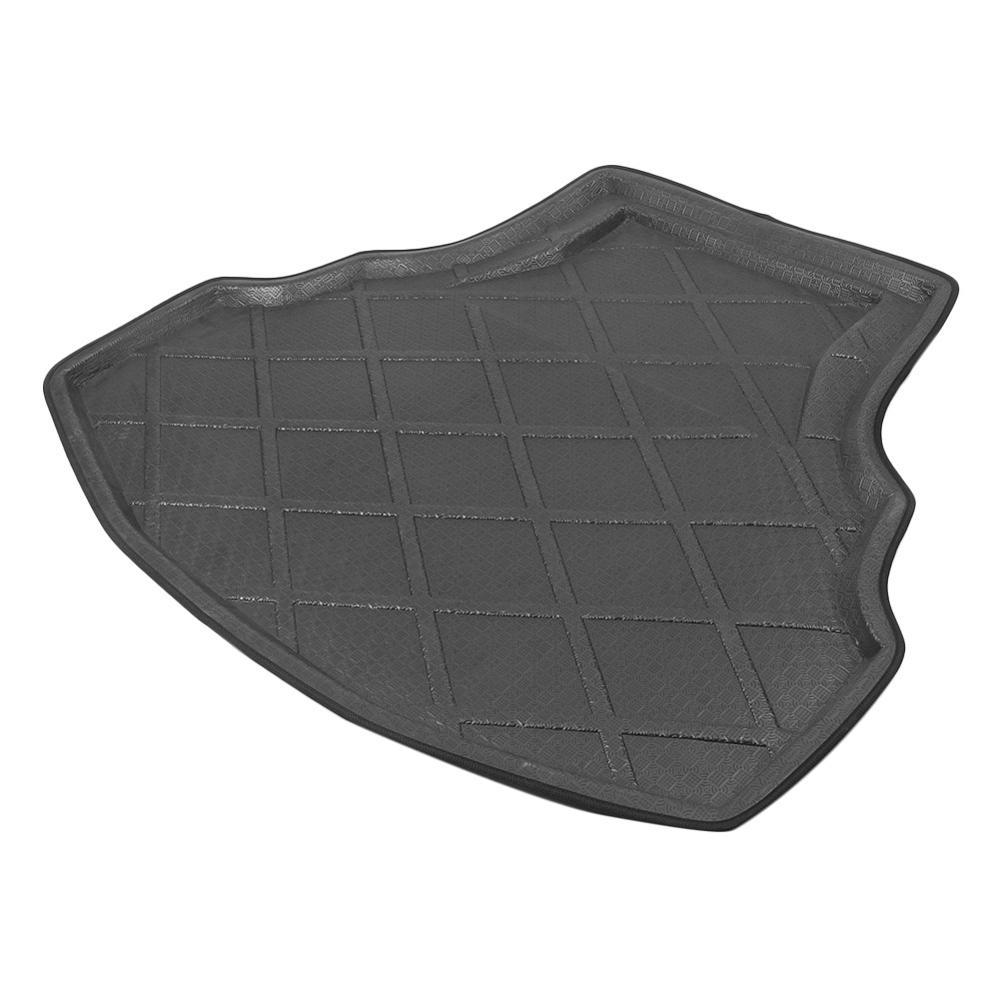 1PC Black Custom Car Rear Trunk Mat Waterproof Cargo Liner Floor Pad For Honda Accord 8 2008 2012 High Quality Car Accessories|  - title=