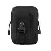 Tactical Molle Pouch Cell Phone Case Belt Clip Holster EDC Utility Gadget 1000D Nylon Men Waist Bag Outdoor Gear