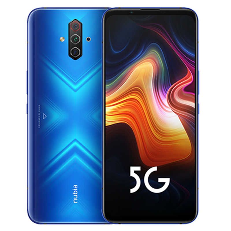 Nubia Spelen 5G Mobiele Telefoon 6.65 Inch Amoled 144Hz Scherm Snapdragon 765G Sa Nsa Dual Band In screen 30W Pd Quick Charger