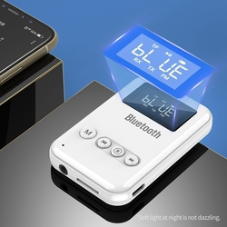 2 en 1 sans fil Bluetooth 5.0 récepteur émetteur adaptateur pour écouteurs haut-parleurs sans fil AUX adaptateur prise en charge carte TF