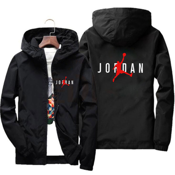 23 Jordan Spring/summer 2021 new pilot jacket for men and women casual windbreaker zipper thin hooded men's jacket