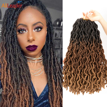 Braid Hair Twist-Loc Faux-Locs Synthetic Goddess Dread 18inch Soft Alileader 12-