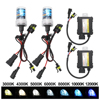 35W HID Xenon Healight Kit H1 H3 H7 H11 9005 9006 4300K 5000K 6000K 8000K 10000K 12000K Auto Headlamp With Slim Ballast 12V DC