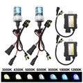 35 Вт HID Xenon Healight Kit H1 H3 H7 H11 9005 9006 4300K 5000K 6000K 8000K 10000K 12000K Авто налобный фонарь с тонким балластом 12V DC