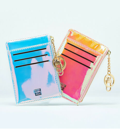 Newest Hot Women Fashion Bright Shining Laser Gold Chain Money Purse Wallet Ladies Light Folding Coin Card ID Holders