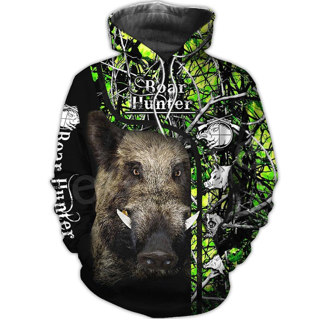 Tessffel Animal Bow Deer Hunter Hunting Camo Tracksuit Pullover NewFashion Unisex 3DPrint Sweatshirts/Hoodies/zipper/Jacket S-5