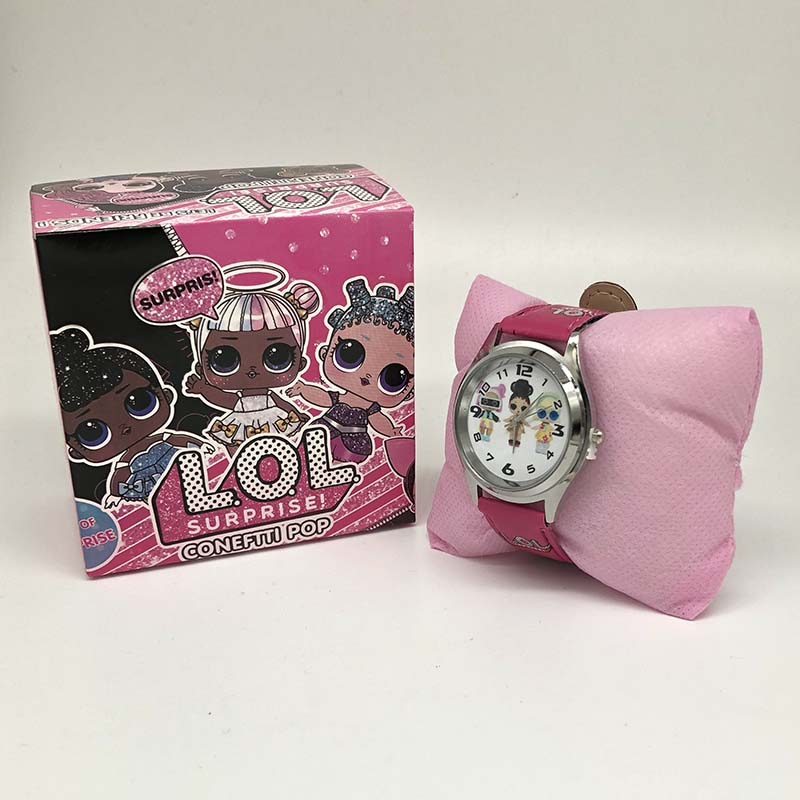 LOL Surprise Dolls Lols Dolls Silicone Watch Child Quartz Wrist Random Color Random 1pcs Fashion Cartoon Girl's Watch Gift Toy