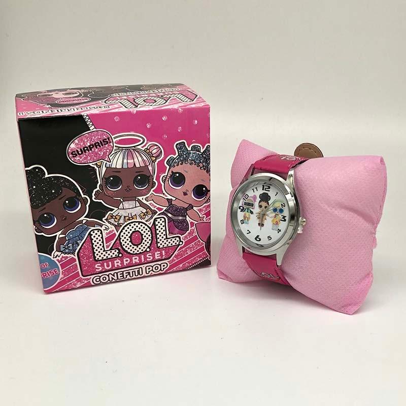 LOL Surprise Dolls Lols Dolls Silicone Watch Child Quartz Wrist Random Color Random 1pcs Fashion Cartoon Girl's Watch Gift Toy