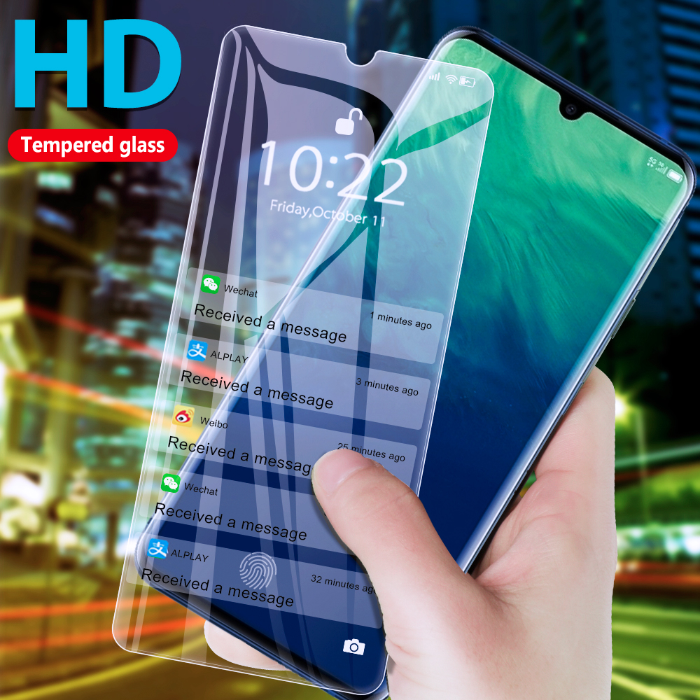 Full Cover Tempered Glass For ZTE Blade 10 A7 2020 Screen Protector Glass On ZTE Blade A5 2020 A3 2020 HD Glass Protective Film