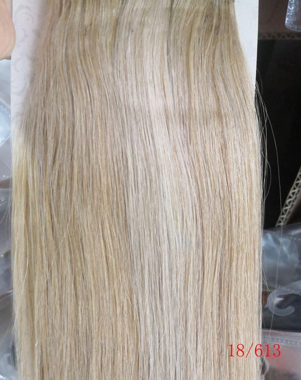 Chocola, бразильские волосы remy на всю голову, 10 шт. в наборе, 280 г, 16-28 дюймов, натуральные прямые человеческие волосы для наращивания на заколках - Цвет: P18/613