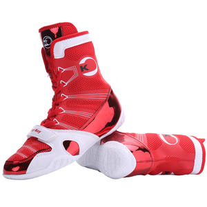 Boxing-Shoes Fighting Training-Match Foot-Protection High-Top Free-Combat Men