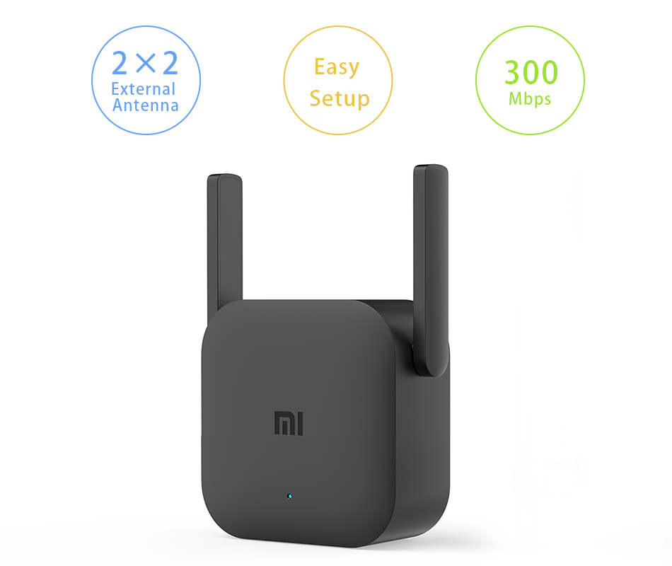 Global Version Xiaomi WiFi Router Amplifier Pro Router 300M 2.4G Network Expander Repeater Power Extender Antenna Home Office 2