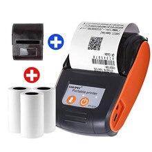 58mm bluetooth impressora térmica mini sem fio impressora protable notas recibo telefone impressora android ios telefone demo app