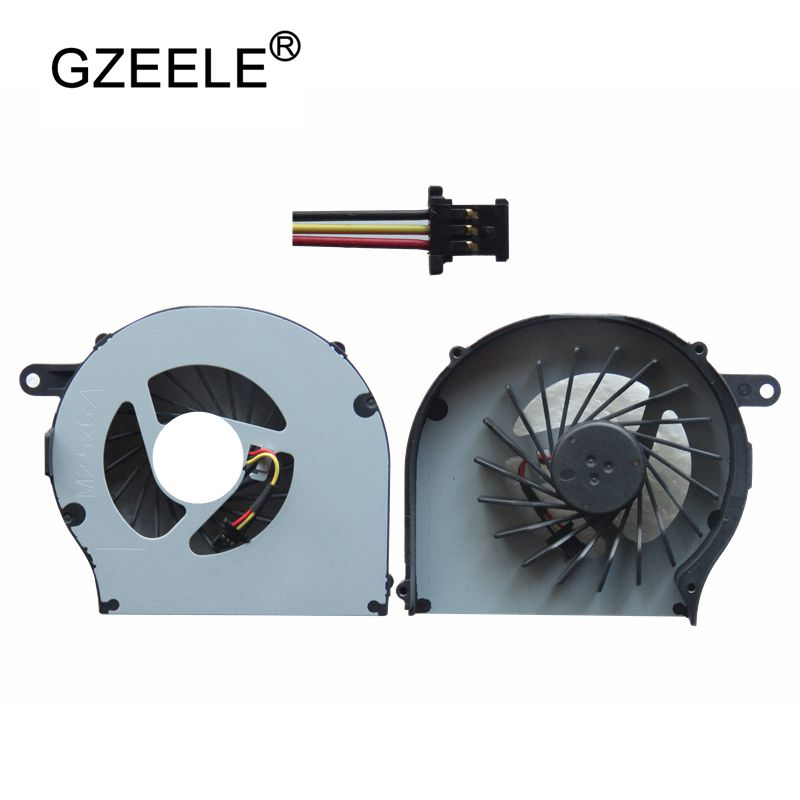 GZEELE New CQ57 Laptop Cpu Cooling Fan For HP For Pavilion G72 CQ72 G62 Series Laptops Replacement Cooler Fan 3 Lines