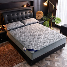 180x200cm 100% Cotton Brushed Fabric Mattress Protector Bed Sheet Anti Mite Matress Protector Couvre Lit Mattress Bed Cover 1PC