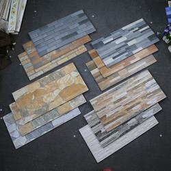 Камни для украшения плитки 300*600 Bump струйная вилла наружная настенная плитка отель Вилла наружная настенная плитка с фоном