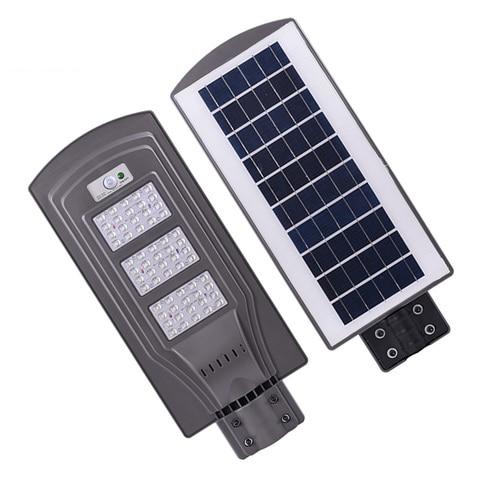 20w 40w 60w led solar luz de rua ao ar livre a prova dip65 agua