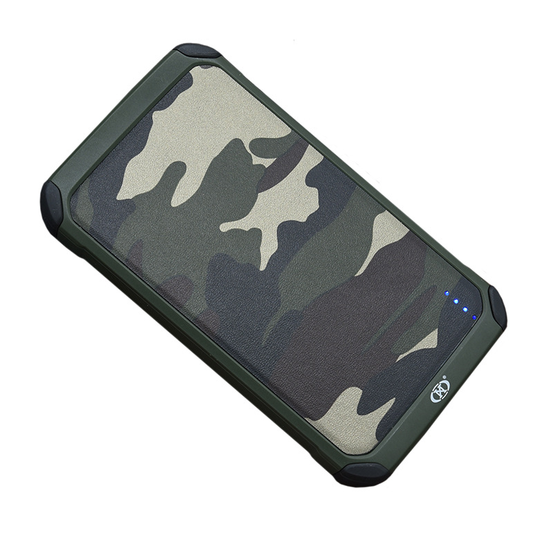 Suitable for Apple Android Universal Handphone Cool Camouflage Mobile Power Charger Portable Large Capacity Customizable