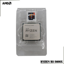 CPU Processor 5600x3.7-Ghz Amd Ryzen Six-Core AM4 Twelve-Thread 65W L3--32m 100-000000065-Socket