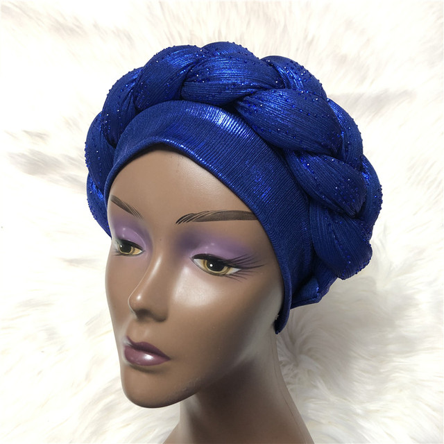 Braided Head Band Turban (Assorted) 1
