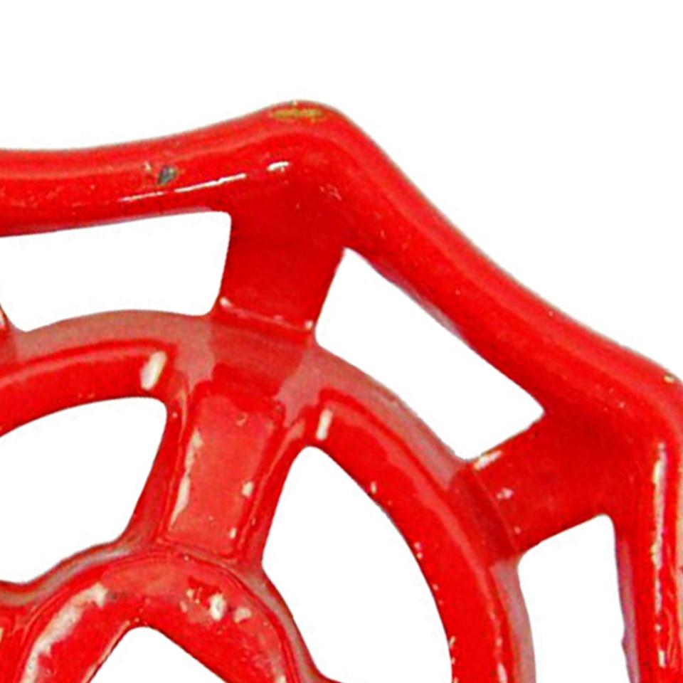 2pcs 6*6mm Cast Iron Valve Handle Gate Ball Hand Wheel Shutoff Valve