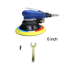 6 Inch Matte Surface Pneumatic Polishing Machine Random Orbital with Sander Pad for Cars Polishing / Grinding / Waxing