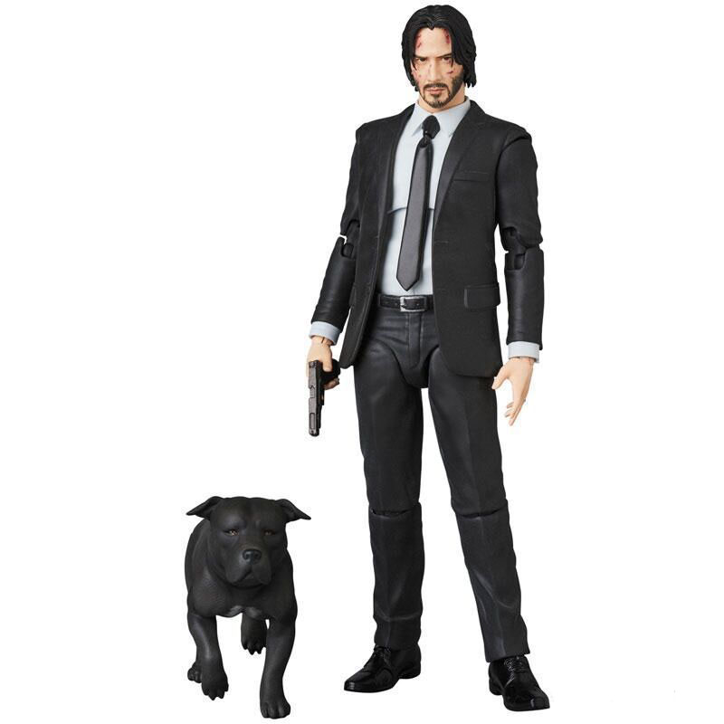 Hot Movie Figure Toys John Wick: Chapter 2 Collection Action Figure Toys  John Wick with the Dog Gifts For Kids Collection Toys