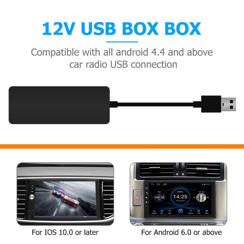 Lien intelligent sans fil pour le Dongle automatique d'usb de CarPlay pour le lecteur de voiture d'android Mini bâton de Carplay d'usb avec l'automobile d'android