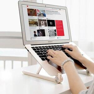 Image 5 - Держатель для ноутбука, монитор macbook, подставка для ноутбука, аксессуары, портативное основание, кронштейн