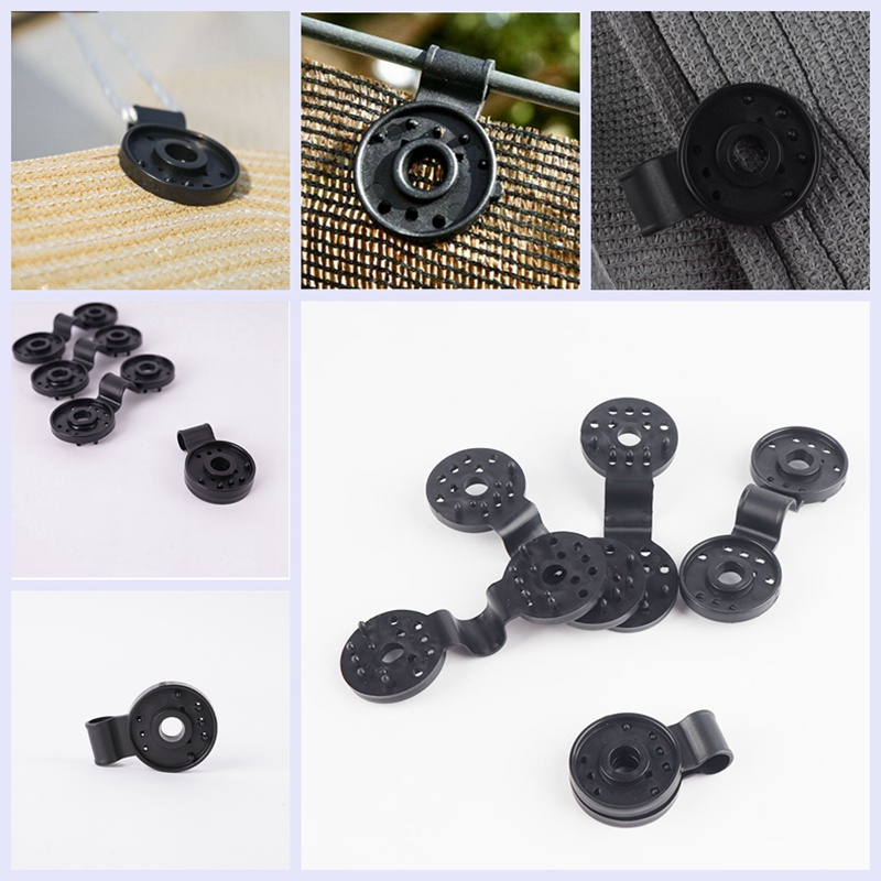 5/10/30/50pcs -Pack Greenhouse Film Clip Agriculture Shade Clips Hang Expand Instant Grommet Sunshade Net Clips Tools