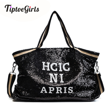 Pullu kadın çantaları baskı mektuplar kadın büyük kapasiteli en saplı çanta bayan el çantası ulusal rahat Tote kız askılı çanta