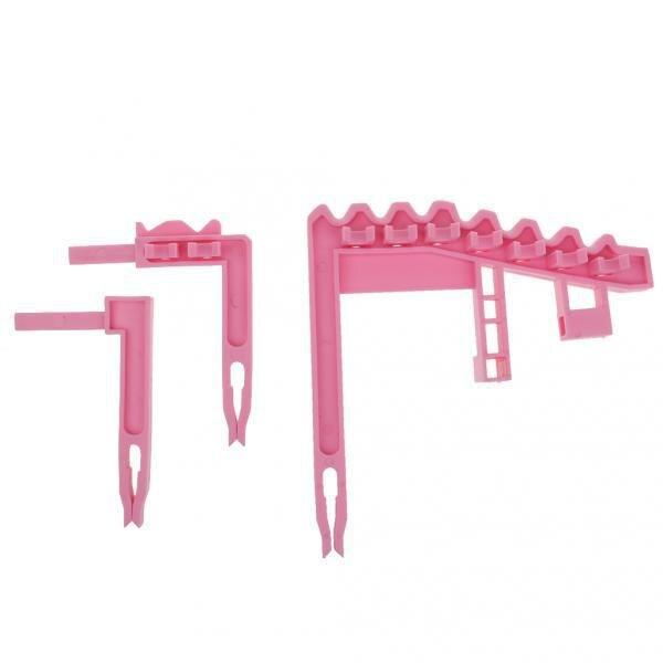Portable Golf Bag 9 Iron Club Holder Stacker Rack Organizer Accessories Pink