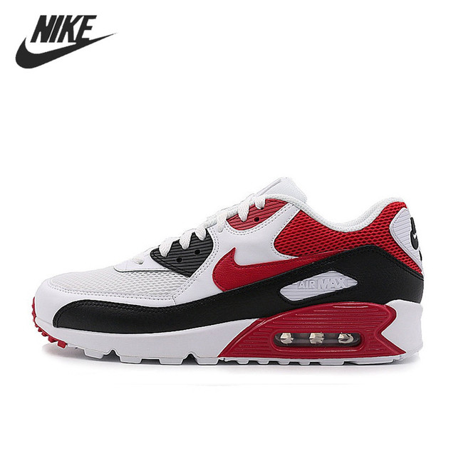 NIKE AIR MAX 90 Authentic Men's ESSENTIAL Running Shoes Sport Outdoor Sneakers Comfortable Durable Breathable 537384-129