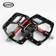 Cxwxc gub плоские велосипедные педали с 3 герметичными подшипниками