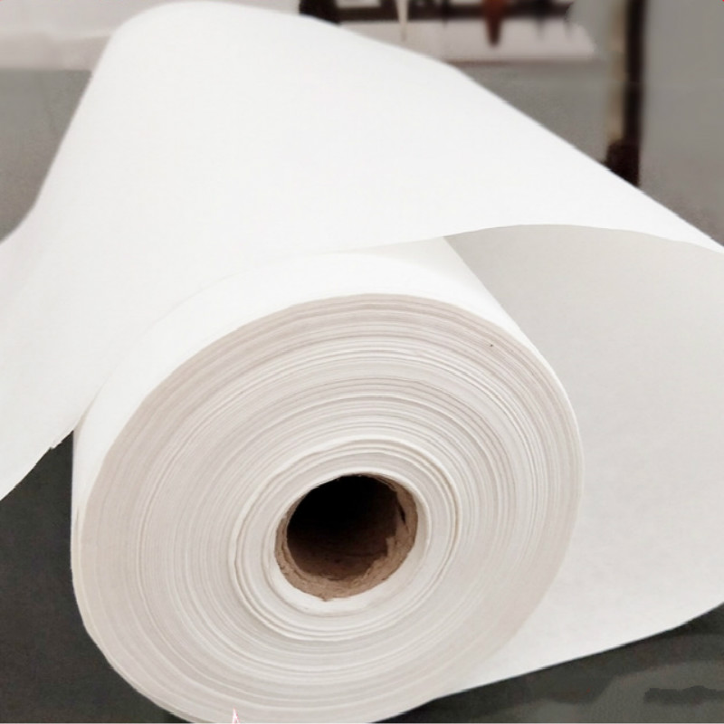 Rolling Xuan Paper Chinese Raw Rice Paper Calligraphy Painting Paper Half Ripe Raw Xuan Zhi Rijstpapier Carta Di Riso|  - title=