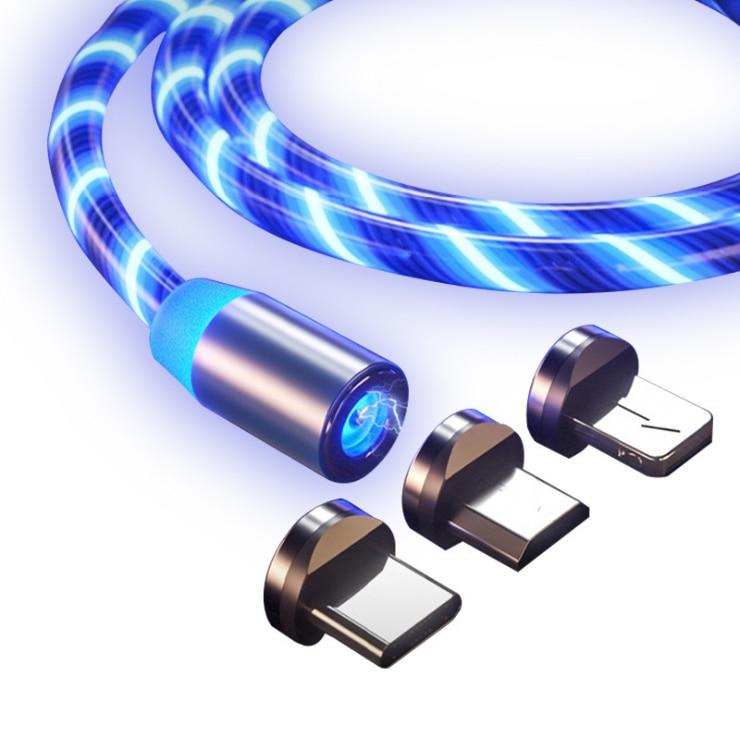 Магнитный светодиодный светящийся мобильный телефон кабель для быстрой зарядки Great Wall Haval Hover H3 H5 lifan solano x60 x50