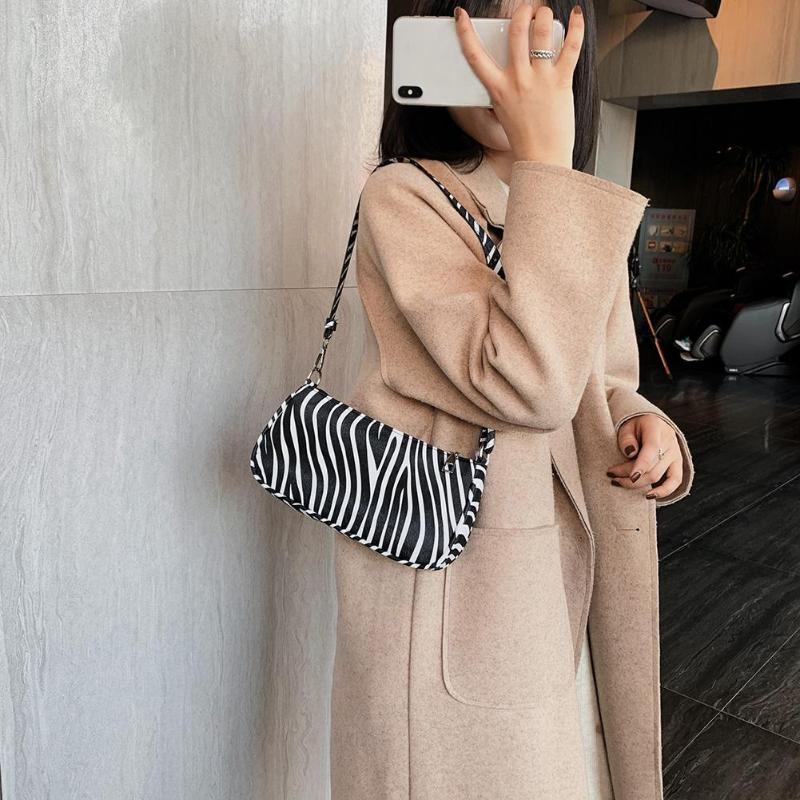 Hot Sale Handbags Wear-resistant Women PU Leather Retro Handbags Fashion Leopard Snake Shoulder Bag Shopping Tote Bolsas Mujer