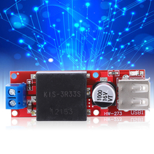 цена на DC TO DC Step Down Converter 7-24V To 5V 3A Power Supply Module Converter With USB Port