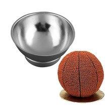 3D спортивные полушаровые формы для выпечки Жаростойкие формы для духовки жестяная кухонная форма