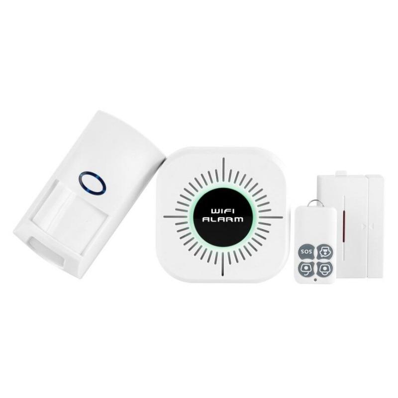 WIFI Wireless Passive Infrared Detector Security Burglar Alarm Sensor Control Smart Home