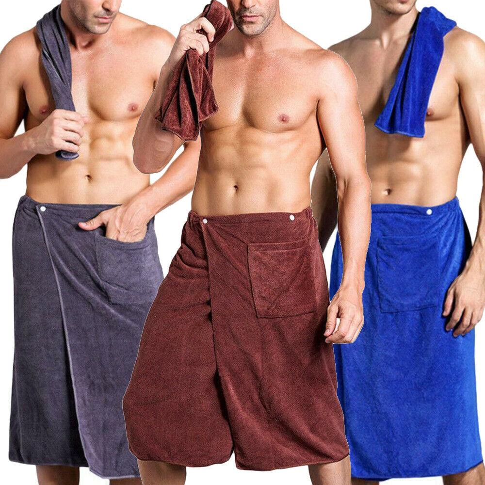 140*70cm Mens Winter Wearable Towel SPA Bath Bathroom Blanket Shower Beach  Dry Quick Wrap Bath Towels  - AliExpress