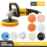 Rotatory Car Polisher 180mm disc Orbital Variable Speed 3000rpm M14 Electric Floor Polisher Paint Care Tool Polishing Machine