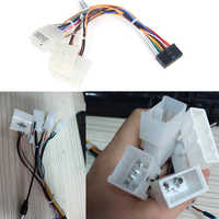 Car Head Unit Wire Harness Adapter Car Stereo Radio Power Connector For Toyota Car Android Radio Harness