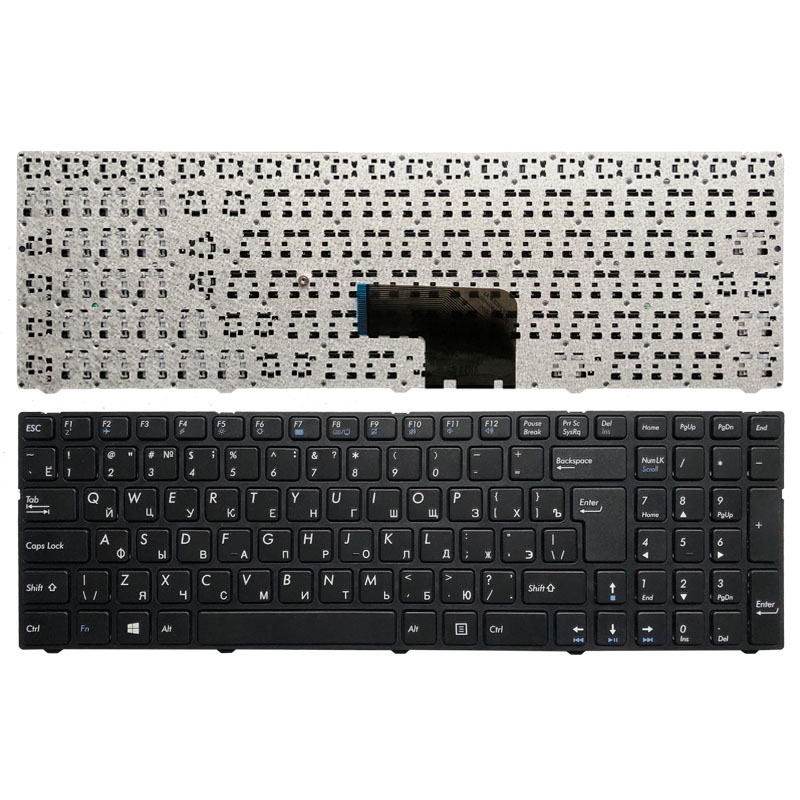 New Russian keyboard for DNS Pegatron C15 C15A C15E PG C15M C17A DEXP V150062AS4 0KN0 CN4RU12 MP 13A83SU 5283 Laptop RU Keyboard-in Replacement Keyboards from Computer & Office on