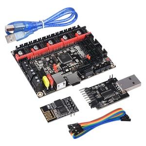 Image 3 - قطع غيار طابعة ثلاثية الأبعاد ماركة BIGTREETECH BTT SKR V1.4 32 بت لوحة SKR V1.4 توربو مع وضع DCDC V1.0 WIFI BTT الكاتب ترقية SKR V1.3