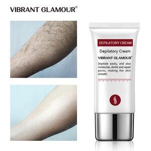 Image 3 - LEBENDIGE GLAMOUR Schnelle Haar Entfernung Creme Schmerzlos Enthaarung mild Entfernung Achselhöhle Beine Haar Körperpflege für männer und frauen 30g